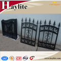 powder coated forged cast wrought main design iron gate