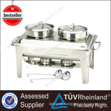 Rohs Industrial Heavy Duty Stainless Steel Pans Buffet Food Warmer