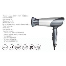 2017 secador de pelo de gran alcance profesional profesional plegable 2200W del diseño