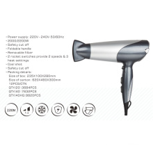 2017 New Design Foldable Professional Powerful 2200W Hair Dryer