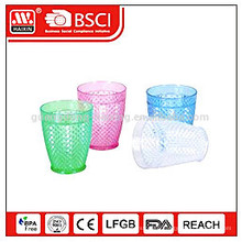 Colorful disposable plastic cup