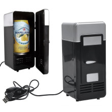 Desktop Fridge Heat&Cool Mini USB Refrigerator