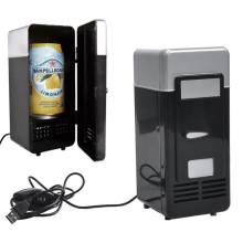 Двойное доверие Специальный USB USB Охлаждение и обогрев Малый холодильник Малый холодильник Прямая USB Мини холодильник