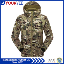 Military Camo Softshell Jacket Wholesale imperméable à l'imperméabilité (YRK116)