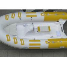 6-Personen-Boot, 4m Rippen-Boot, aufblasbares Fiberglas-Boot für Seasport mit CER China