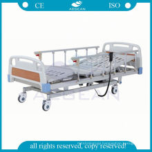 AG-BM104 6-rank al-alloy handrails multifunction electric cheap hospital bed