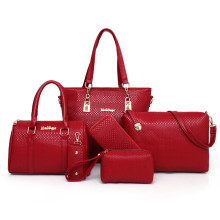 Borong Designer Tulen PU Tote Fashion Ladies Handbags