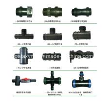Alta qualidade vários encaixes de irrigação por gotejamento de PE