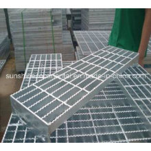 Galvanized Serrated Steel Step Grating