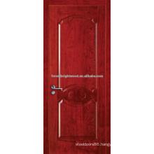 House door design natural veneered molded door of interior doors