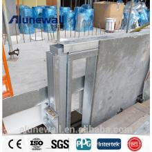 Alunewall 2meter width stainless steel exterior aluminum composite panel PE/PVDF ACP