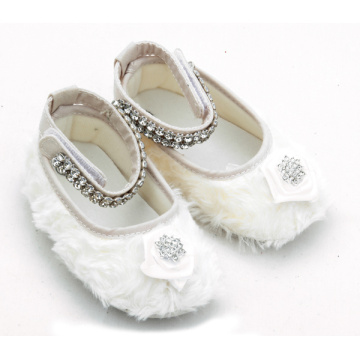 Cotton Plush Little Girls Baby Mary Jane Schoenen