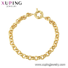 75366 xuping fashion top sale all season bracelet simple style in China wholesale