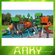 Beautiful nature children slide outdoor playground equipment