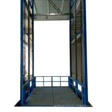 jinan leader machinery ce hydraulic industrial ware house drywall lift elevator 3 tons