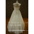 New Ivory Lace Long Sleeves Wedding Dress Bridal Gown Pulz Size Custom Made 2017