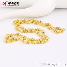 42793 Collier de bijoux en perles plaqué or à la mode