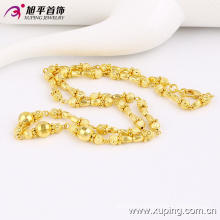 42793 Fashion Nice Gold-Plated Bead Jewelry Necklace