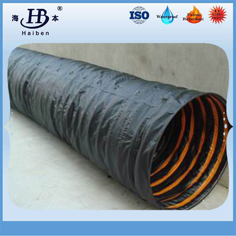 Good quality pvc flexible spiral tunnel ventilation air duct