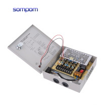 4CH port dc12v 5a 60w cctv power supply/switching power supply for cctv