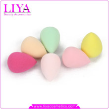 2015 Lovely Cute Face Power Puff sbr egg shape make up sponge
