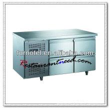 R244 4 Fächer Fancooling Handelskühlschrank