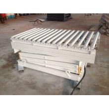 Plataforma de elevação hidráulica elétrica com rolo