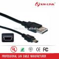 USB-Kabel 5pin Mini-USB-Kabel für MP3 / MP4 Spieler-Gebühr