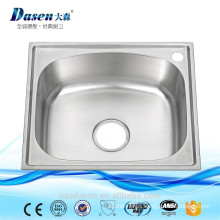 Stainless steel 201 mini single kitchen sink India price with plastic stainer