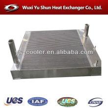 Radiador da escavadora de alumínio da aleta da placa
