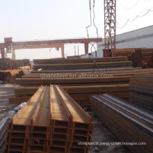 Welded H beam/q235 hot rolled iron structural steel h beam for sale steel beams