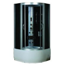 Sala de vapor de sauna húmeda prefabricada portátil para una persona