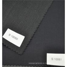 Hilo de arenque de alta costura peinado de lana de poliéster mezclado tela adecuada