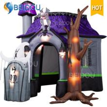 Надувной Хэллоуин Украшения на Хэллоуин Надувной Дом с привидениями