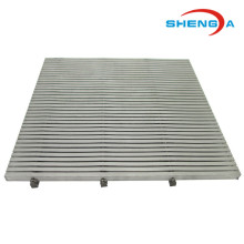 Wedge Wire Screen Sieve Plate vattenfilter