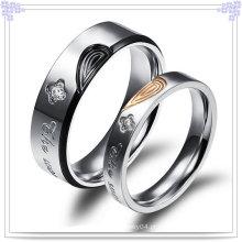 Anel de casal de moda de jóias de aço inoxidável (SR548)