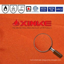 NFPA2112 aramid fabric with natural flame retardant for industry garment
