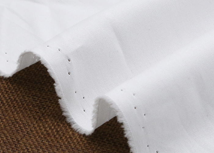 Cotton White Twill Fabric
