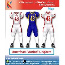 benutzerdefinierte Sublimationsdruck American Football Uniformen