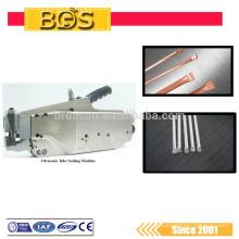 Máquina ultra-sônica potável semi-automática da selagem do tubo do metal de BDS