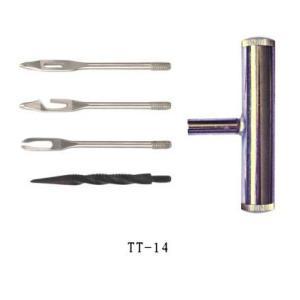 4 in 1 chromed metal handle tool, for truck Tire repair tool