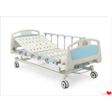Double Crank Manual Hospital Bed