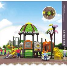 Equipamento educacional parque infantil ao ar livre para recreação criativa