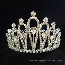 wholesale hair accessories beauty crystal princess crown headband
