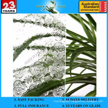 3-8mm Clear Flora Patterned Figure Glass with AS/NZS2208: 1996