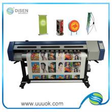 Impresora solvente del eco pequeño 1.6m