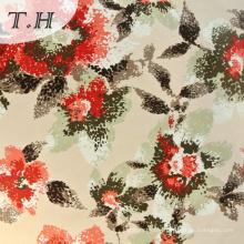 2015 Tricot Velvet Follower Pattern Print Fabric for Sofa