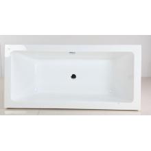 Гладкая ванна в акриловом материале
