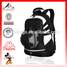 Soccer Backpack Ball Pocket Sports Gym Bag Holds Shoes, Cleats, Water Bottles Adjustable Straps