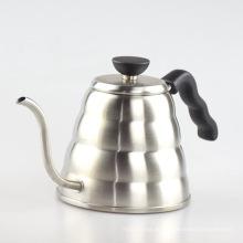 Cafetera y tetera de acero inoxidable